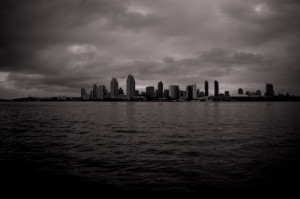san diego from coronado - brandon mauth