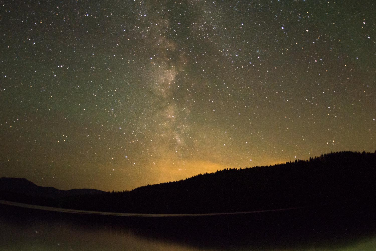 Milky Way over Pend Oreille Lake, Idaho