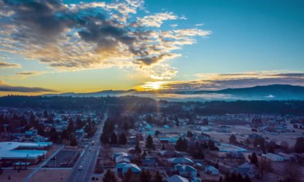 Time-Lapse of a Spokane Valley sunrise