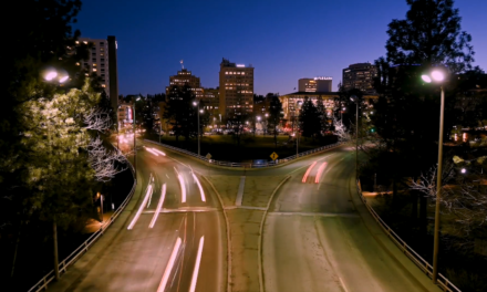 Time-lapse Downtown Spokane Washington