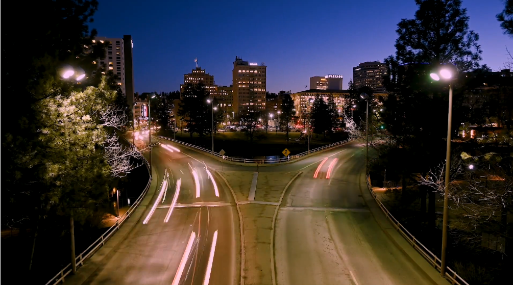Time-lapse - Spokane - Brandon Mauth - Everyday I'm Hoverin'